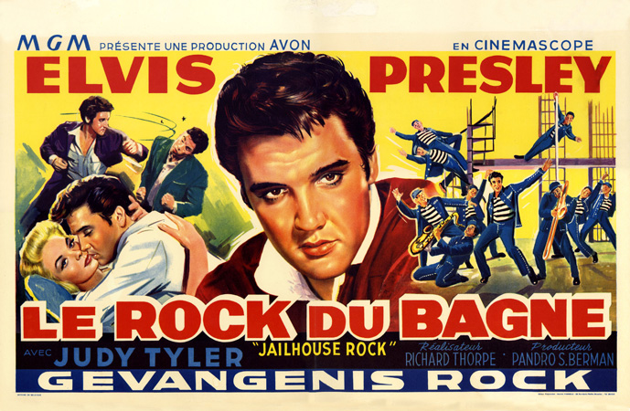 Jailhouse Rock French Poster